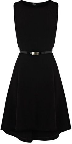 High Low Seamed Dress - Lyst
