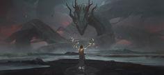 Fantasy World, Dark Fantasy, Fantasy Art, Concept Art World, Game Concept Art, Fantasy Creatures, Mythical Creatures, 3d Modellierung, Arte Game Of Thrones