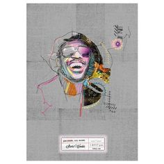 Stevie Wonder Print A3 now featured on Fab.