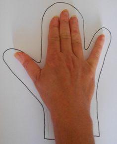 Cómo hacer un títere de guante con fieltro