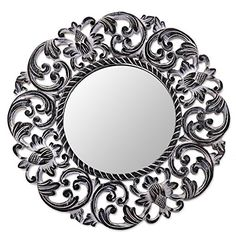 NOVICA Floral Wood Wall Mounted Mirror From Indonesia, Bl... http://smile.amazon.com/dp/B01BPS3YL2/ref=cm_sw_r_pi_dp_ml0jxb1ZM49N2
