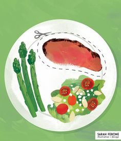 From the book Life is Long! by Karen Salmonsohn and Ten Speed Press! Cut out meat to add years to your life! As a vegetarian I'm all about this And don't miss out on my shop sale going on both playing cards and Society6! Link in profile. #illustration #editorialillustration #lifeislong #vegetarian #sarahferone #twitter #cybermonday #shopsmall #shopindie Shop Sale, I Shop, Book Of Life, The Book, Fruit And Veg, Indie, Playing Cards, Vegetarian, Profile