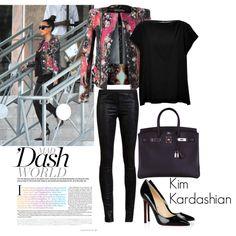 """""""Kim Kardashian"""" by lexixoxo87 on Polyvore"""