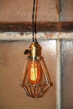 Industrielle suspension luminaire suspendu par IndustrialRewind