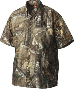 0d1add957b9ac Non- typical dura- lite short sleeve shirt in Xtra green #realtree  #drakenontypical