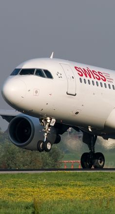 Swiss Airlines Airbus plane