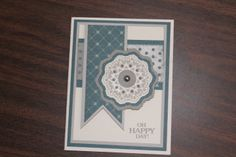 card by Cindy Gambill using CTMH Avonlea paper Cricut Cards, Heart Cards, Close To My Heart, Scrapbook Pages, Cardmaking, Card Ideas, Greeting Cards, Corner, Paper Crafts