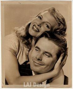 Rita Hayworth & Glenn Ford.