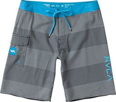 RVCA Mens Civil 20 Trunk Bright Blue 28 *** Find similar swimwear by clicking the VISIT button