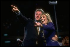 Too cute 1992/1993 New President and First Lady
