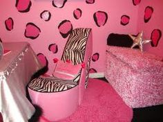 love the wall and high heel chair