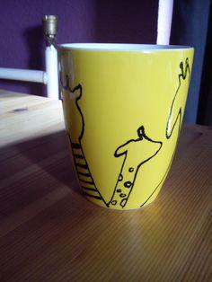 mug with giraffes.very cute gift!:3
