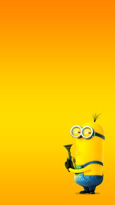 Funny cartoon yellow hunting mysterious emotions hd iphone 6 plus wallpaper Minion Wallpaper Iphone, Iphone 6 Plus Wallpaper, Disney Wallpaper, Cartoon Wallpaper, Mobile Wallpaper, Wallpaper Backgrounds, Banana Funny, Minion Banana, Cute Wallpapers