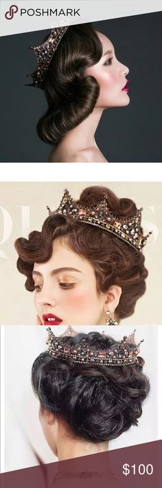 COMINGLuxury diadem Crown Tiara Wedding PartyProm COMING SOON New without tag tiaras and crowns Accessories Hair Accessories