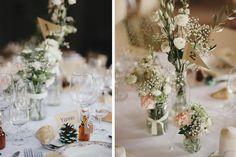 AL & JP, un joli mariage brocante champêtre - Les Marieuses