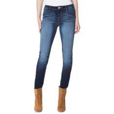 No Boundaries Juniors' Essential Skinny Jeans, Size: 15