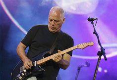 Gilmour al Corona Capital en el DF