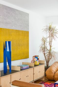This midcentury Los Angeles home, owned by Kathryn Bentley of Dream Collective, is a beautiful showcase for her own work and that of her talented friends.