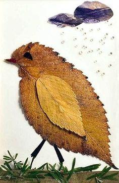 Oshibana 5 von Pavlina Panova - Bastelideen Kinder - My best diy and crafts list Autumn Crafts, Autumn Art, Nature Crafts, Leaf Crafts, Flower Crafts, Diy Flowers, Flower Ideas, Make Up Art, Art For Kids