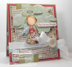 My Favorite Things Stamps - November Release - PI Angel