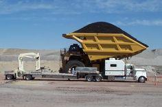 The 797 CAT monster is FULL. #CaterpillarEquipment #CATDiesel #heavyequipment