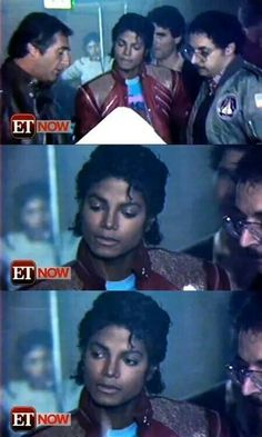 MJ ♥ So incredibly handsome. One of ET's first episodes and they got to interview him on the set of the short film beat it- I've seen this interview so many times ❤️