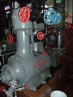 The Stevens Point Brewery's Vilter ammonia compressor.