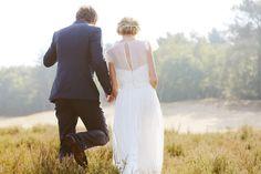 Romantische heide shoot