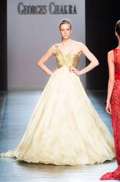 George Chakra at Couture Fall 2014 - Runway Photos