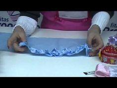 Fitas Progresso - Almofada com Franzido de Fitas - Clube de Artesanato - YouTube