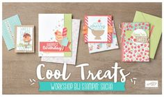 Stampin' Up! Cool Treats VIP Workshop