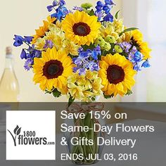 1800 Flowers.com – Save 15% on same-day flowers & gifts delivery  Save 15% on Same-Day Flowers & Gifts Delivery Service at 1800flowers.com.  Brought to you by http://www.imin.com and http://www.imin.com/store-coupons/1-800-flowers/