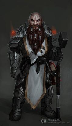 Renrick Thunderhand (Commission) by IcedWingsArt.deviantart.com on @DeviantArt