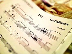 Los Traficantes score, sheet music WatCinema.com