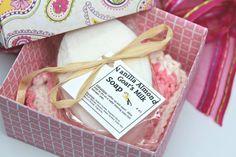 Women's Gift Set Spa Gift Basket Goats Milk Soap by GwensHomemadeGifts #etsyshop #handmade #goatsmilksoap #womensgift