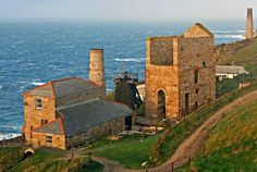Levant Mine featured on Poldark Places In Cornwall, Rolling Mill, Poldark, Filming Locations, Weekend Getaways, Monument Valley, Magazines, Tourism, England