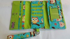 Owl Trifold Wallet
