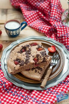 Eat Breakfast, Breakfast Recipes, Healthy Sweets, Healthy Eating, Sweet Recipes, Pancakes, Lunch Box, Food And Drink, Cooking