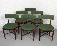 Mid century, retro, G Plan fresco dining chairs