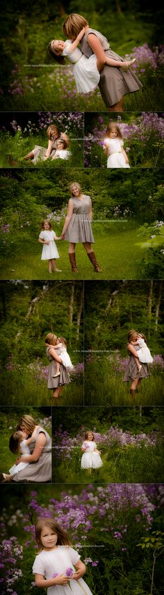 Dreamy Mother & Daughter Photo Session | Beautiful outdoor photos of mom with girl