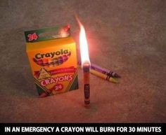 These illuminating crayons. | 27 Everyday Objects That Went Beyond The Call Of Duty