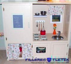 gyerek konyha házilag