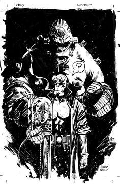 Hellboy by Garry Brown *