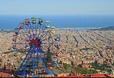 Tibidabo, Barcelona. Den passenden Koffer für eure Reise findet ihr bei uns: https://www.profibag.de/reisegepaeck/