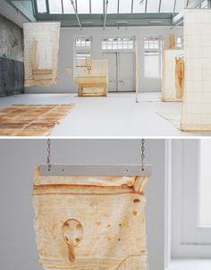 Skinned Buildings: Latex Casts of Derelict Urban Surfaces