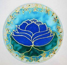 Blue Lotus Mandala,mandala art, throat chakra mandala, yoga art, meditation art, spiritual art, lotus art, new age, metaphysical on Etsy, $34.00