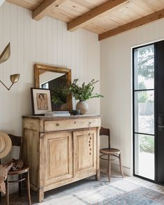 Client Me Myself and I Can't Make Up My Mind Wabi Sabi, Wood Garage Doors, Piano Room, Amber Interiors, House Interiors, Painting Cabinets, Modern Farmhouse, Farmhouse Style, Modern Barn