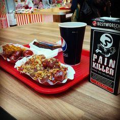 Gehste in die Stadt. Was macht dich da satt? :D  #currywurst #bwit Heute mal in A. Weil der Kakao so lecker ist ;)
