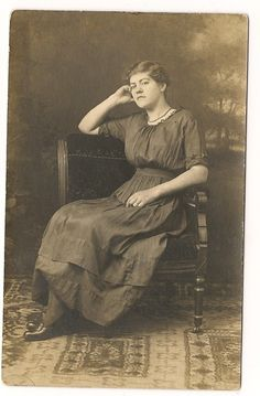 my great aunt, Lottie Miller