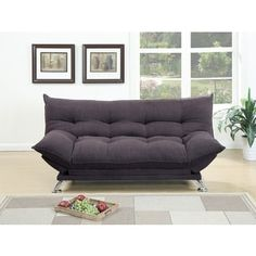 Rio Polyfiber Plush Sleeper Sofa   Overstock.com Shopping - The Best Deals on Sofas & Loveseats